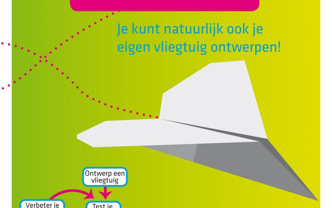 Instructies Vliegtuig vouwen