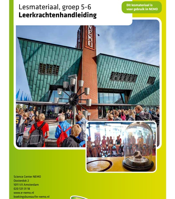 Onderwijs Leaflets voor NEMO