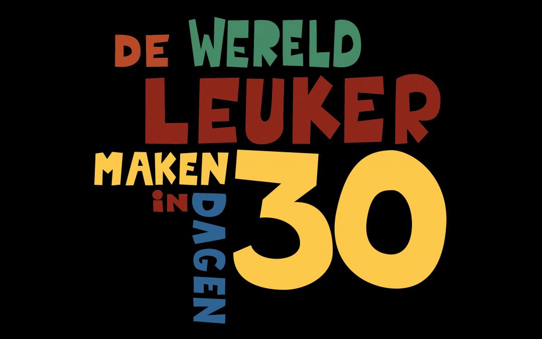 Logo Maak de wereld…